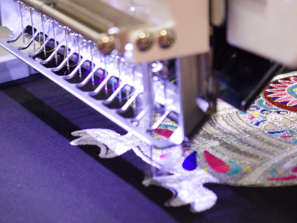 Производство вышивки