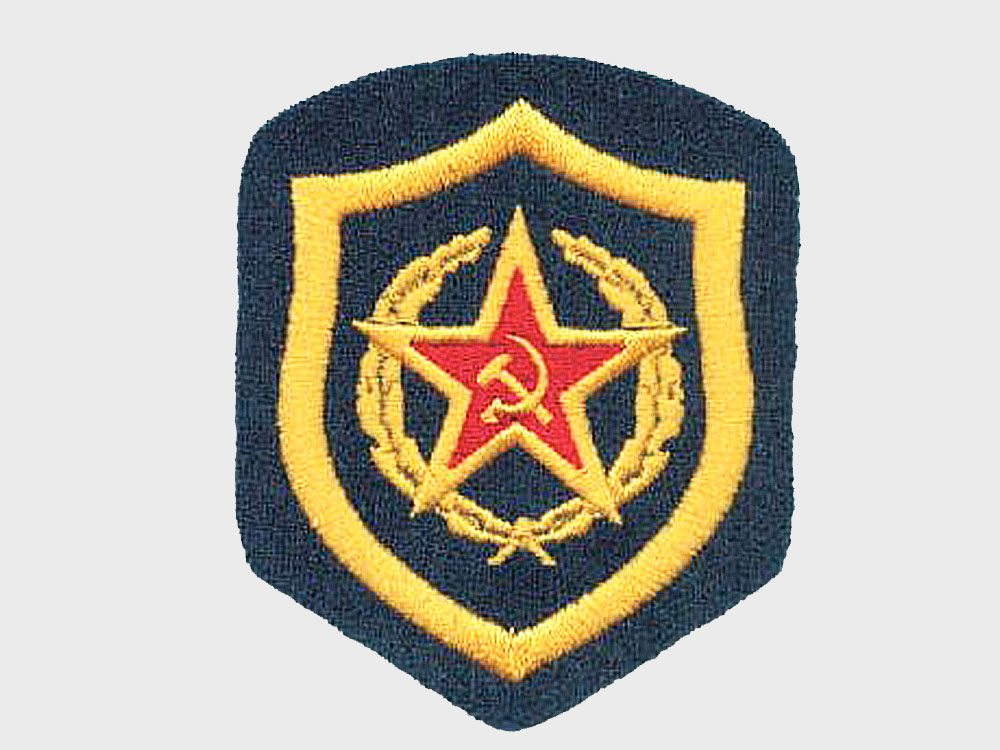 Машинная вышивка эмблем