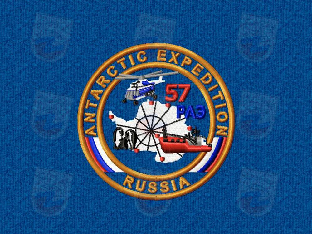 Срочная вышивка логотипа